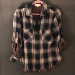 Cloth and stone button down blouse